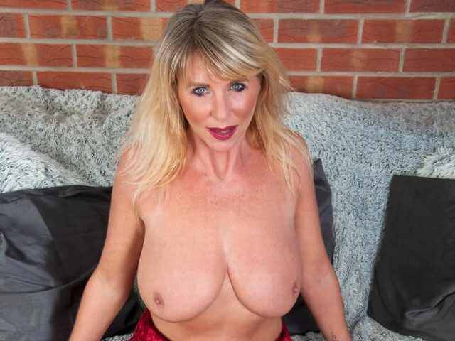 Mature Micki from the UK