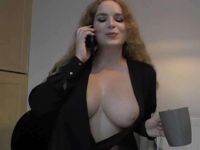 Emily Hamilton on the phone
