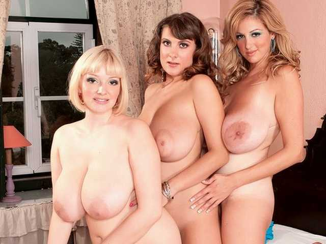 busty trios