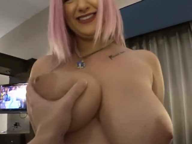 Feeling Sabrina's titties
