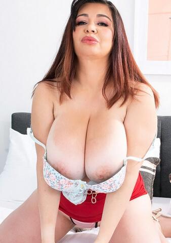 Big Boobs Latin MILF Scarlet Red