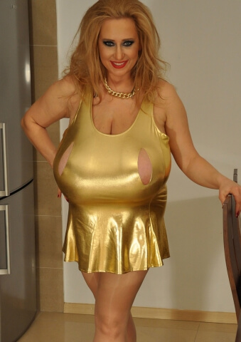 Giant Boobs MILF Abbi Secraa is Ready To Party